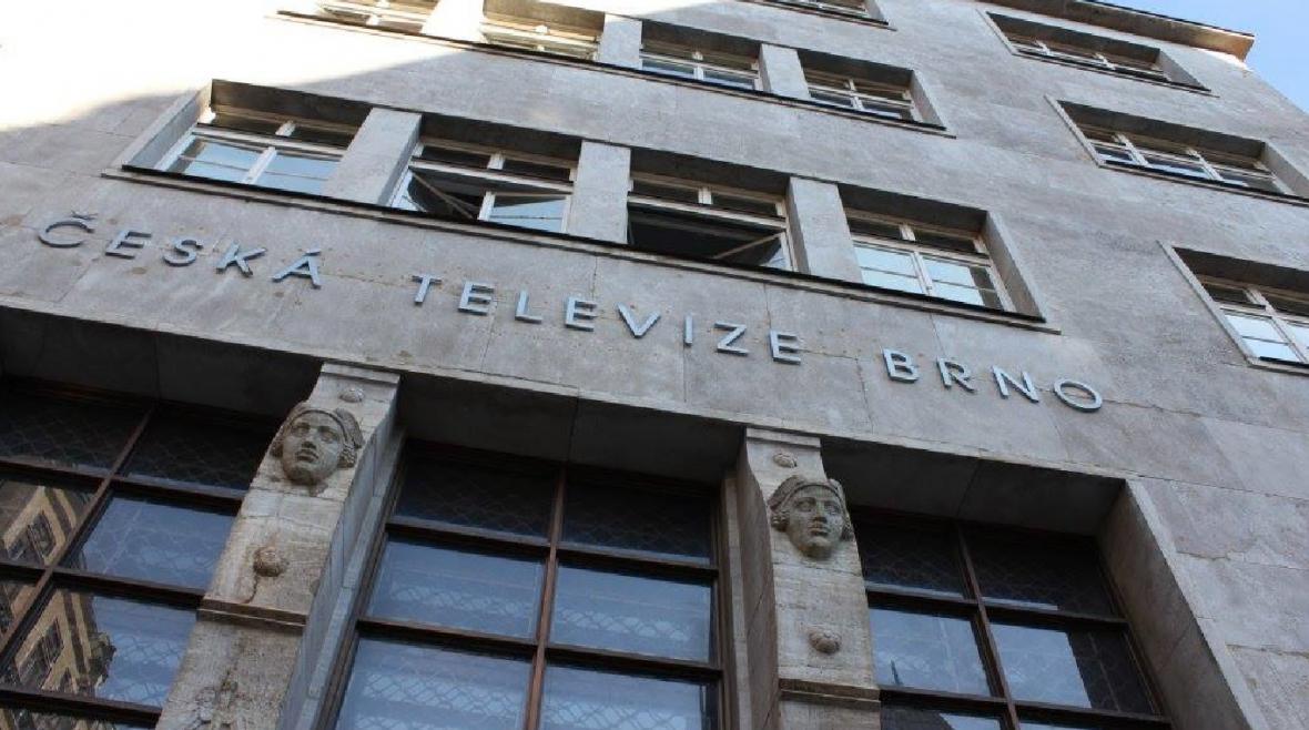 Budova České televize v Běhounské ulici