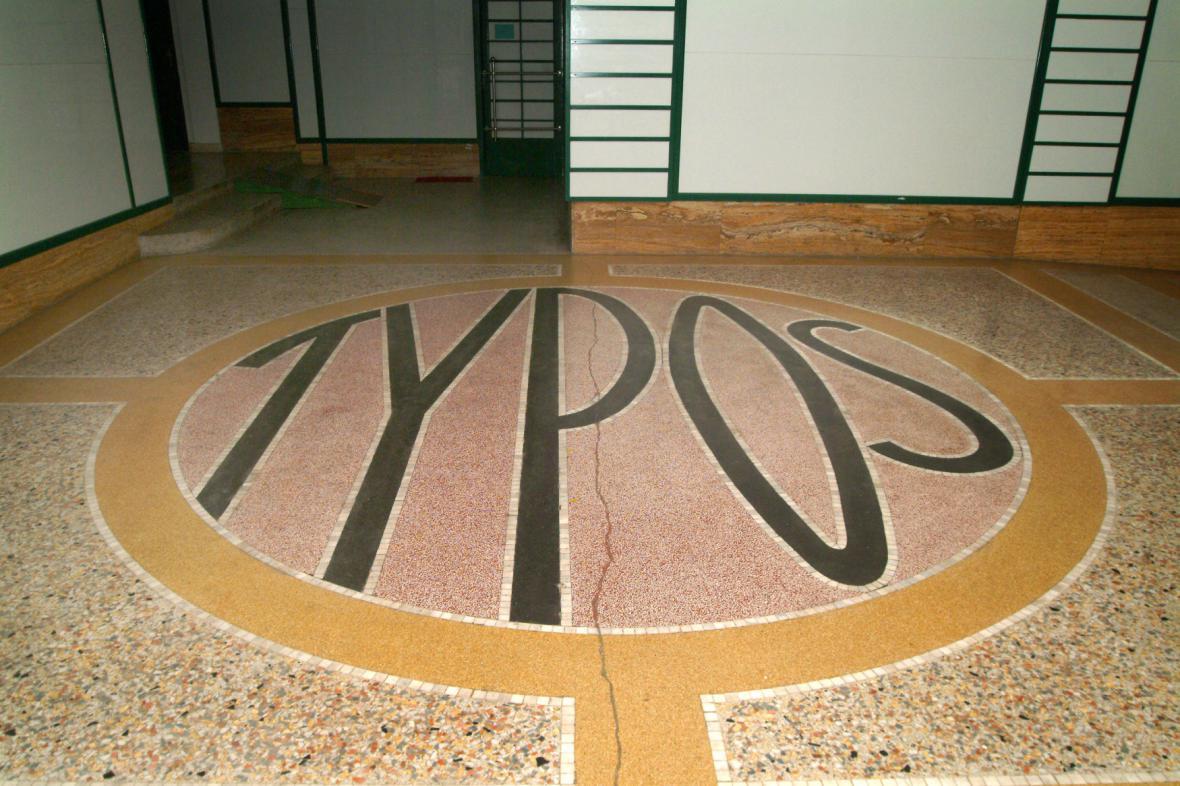 Palác Typos v Jezuitské ulici