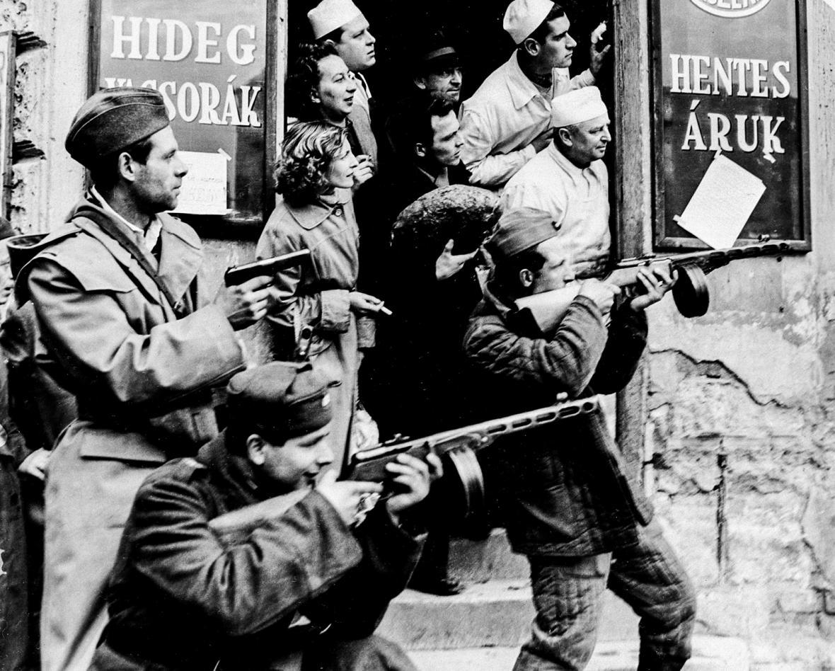 Maďarské povstání 1956