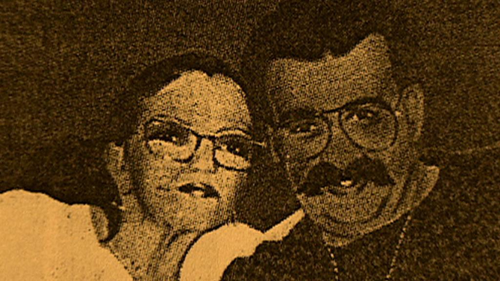 Zavražděný Antonín Běla (vpravo)