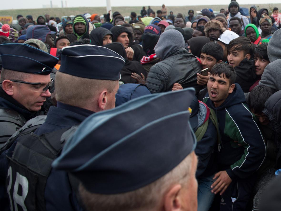 Konec Džungle v Calais