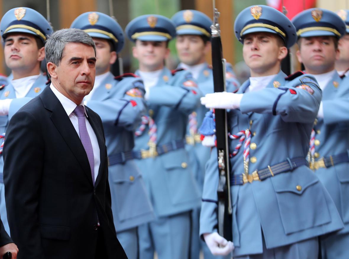 Bulharský prezident Rosen Plevneliev navštívil v září Česko