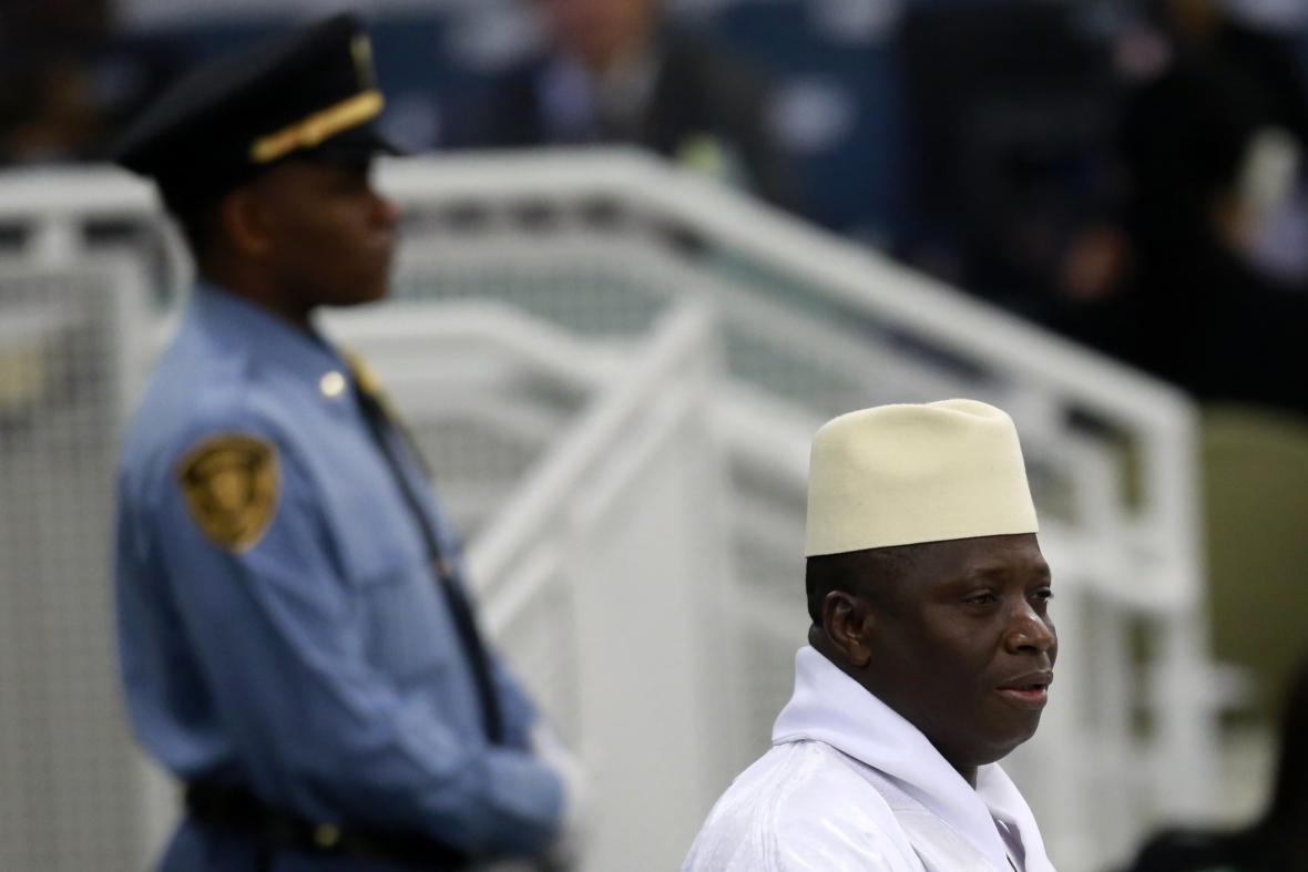 Prezident Gambie Yahya Jammeh