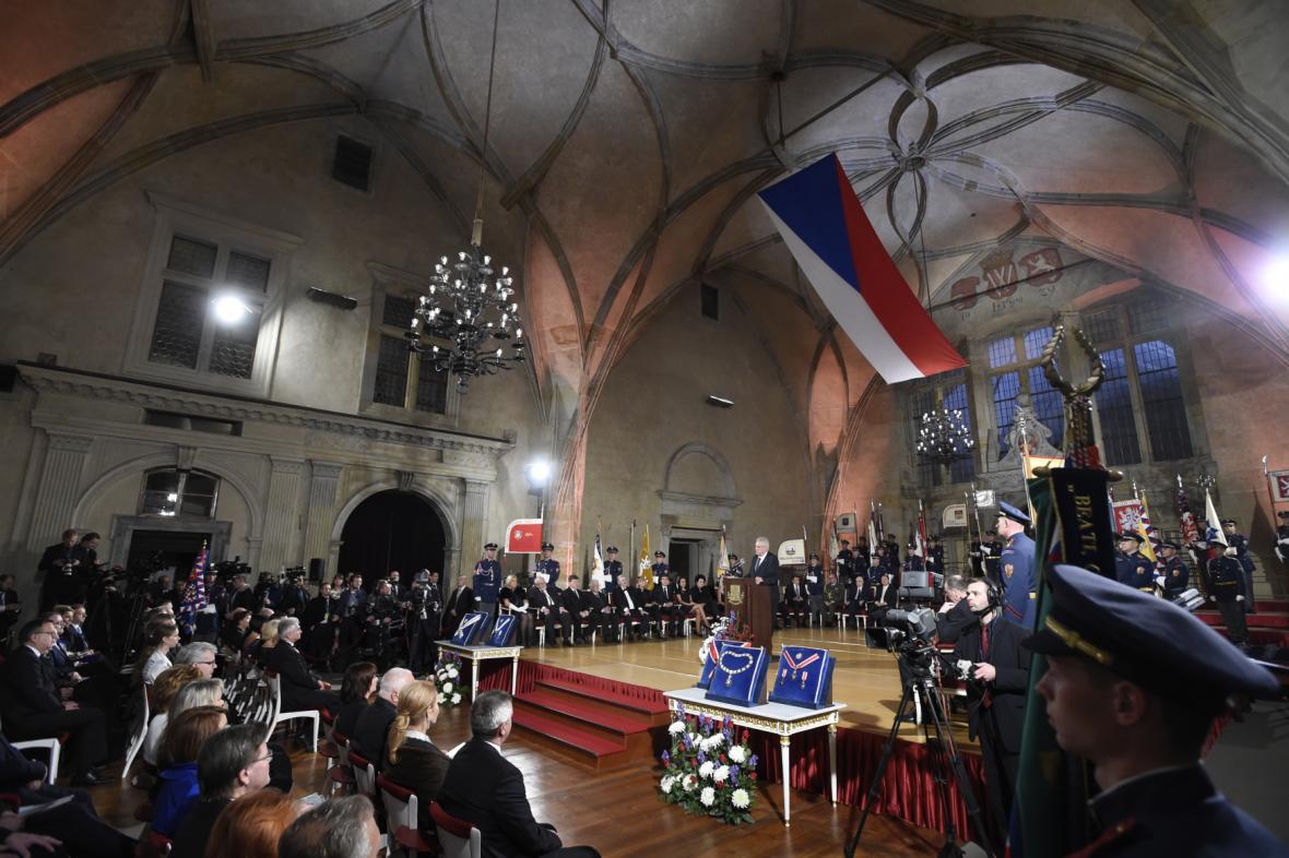28. říjen ve Vladislavském sále