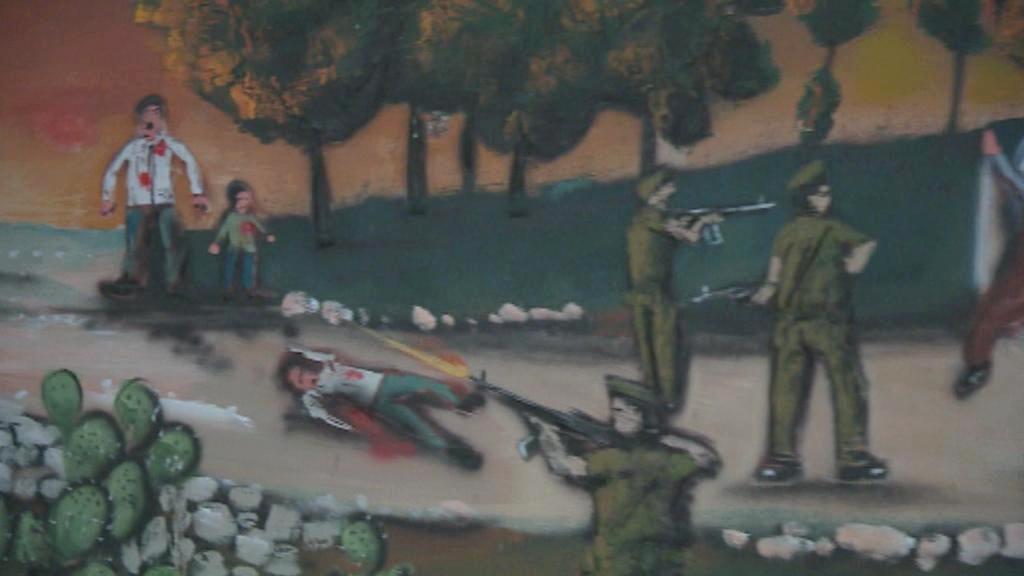 Výstava o masakru v Kafr Kásim