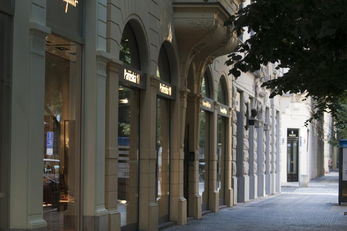 Pařížská ulice v Praze