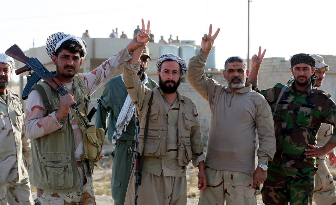 Oslavy postupu vojsk na Mosul