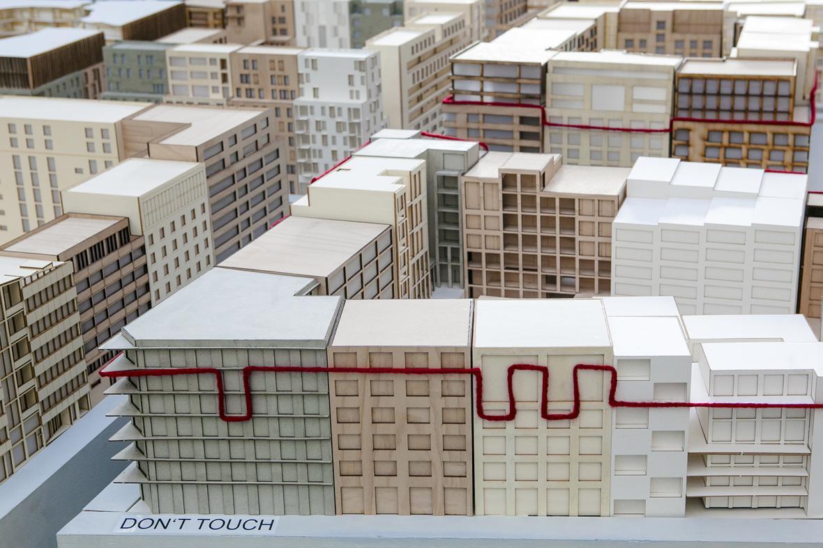 Výstava modelu a vizualizací Smíchov City v obchodním centru Nový Smíchov