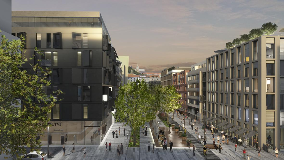 ČVUT ve spolupráci s developerem, MČ Praha 5 a IPR  vystavuje model městské čtvrti Smíchov City o velikosti 9 x 4 metry v obchodním centru Nový Smíchov.