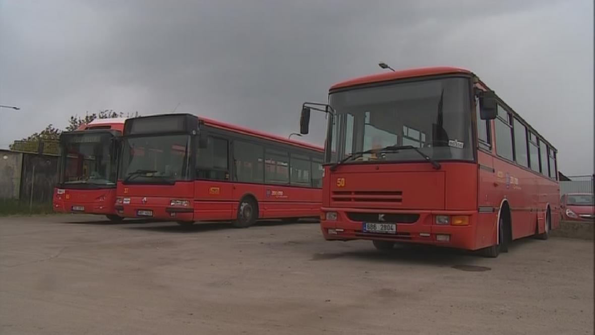 Autobusy firmy Psota v pondělí vyjedou
