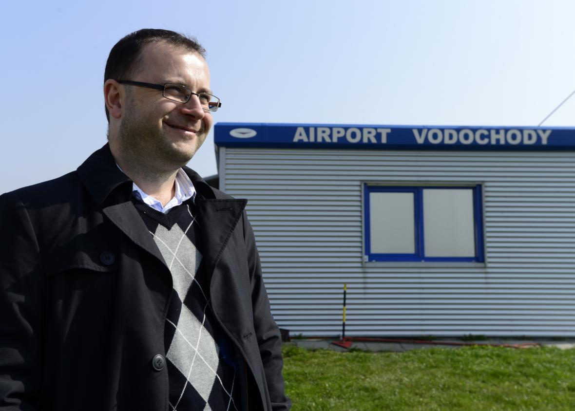Ředitel Letiště Vodochody Martin Kačur
