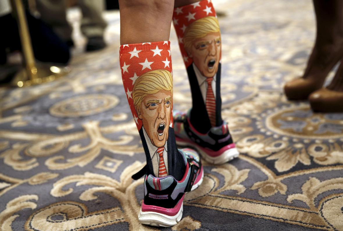Donald Trump a jeho příznivci i odpůrci