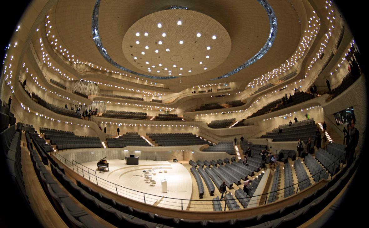 Labská filharmonie - Velký sál