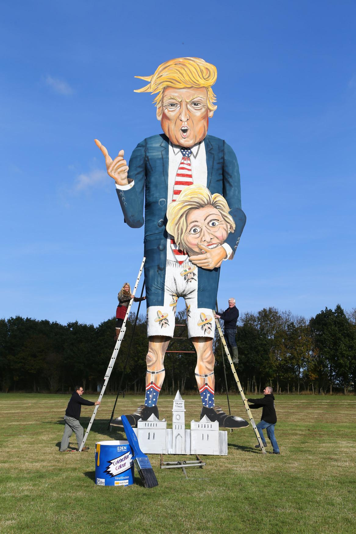 Donald Trump v kampani před volbou prezidenta USA