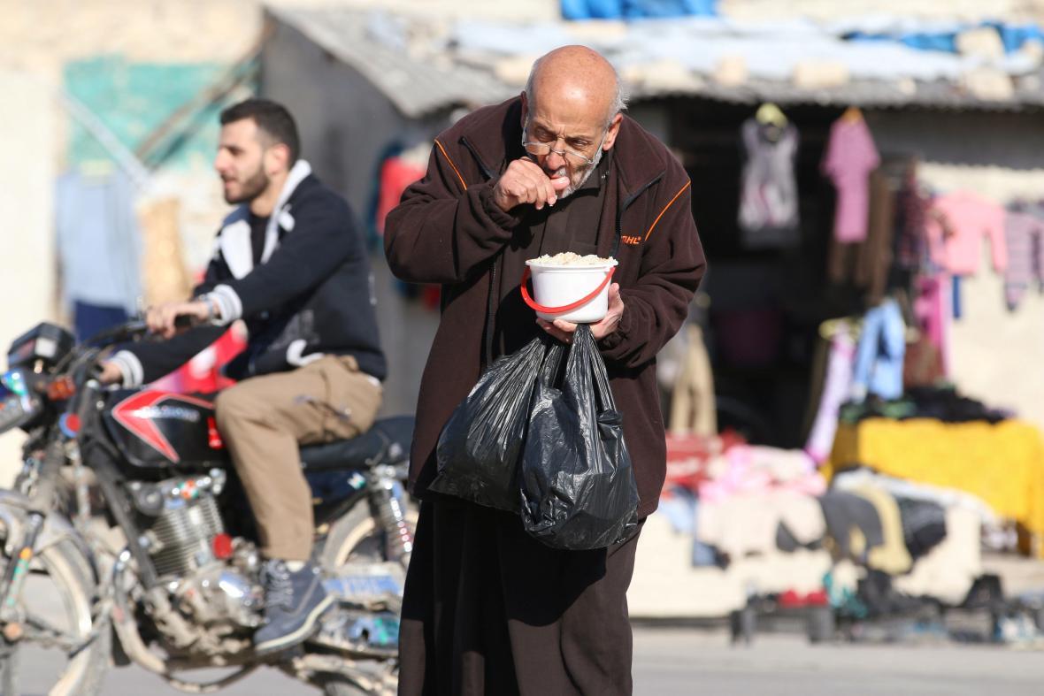 Humanitární situace v Aleppu