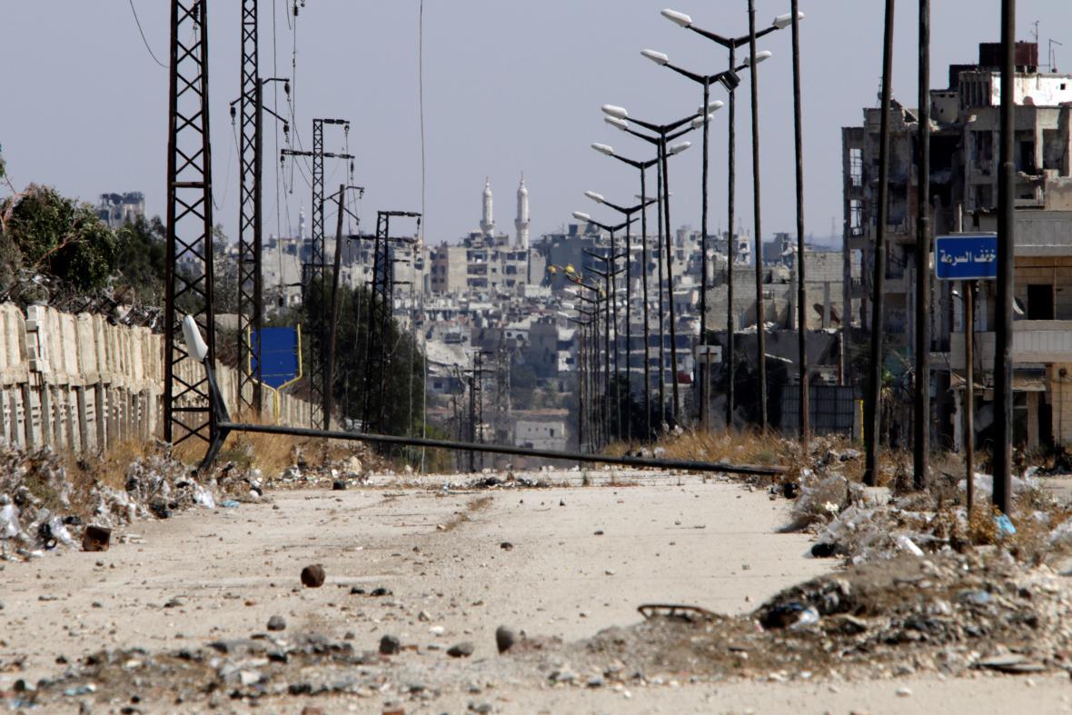 Válečné memento Homsu