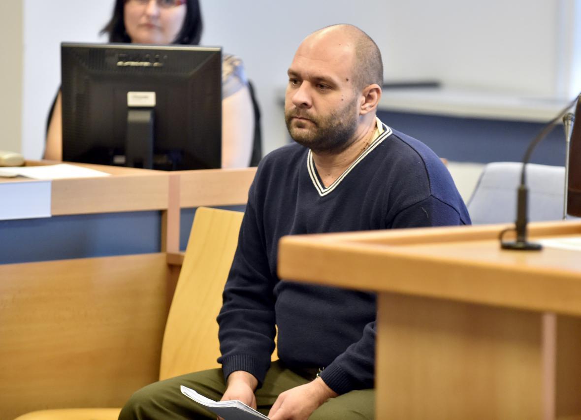 Pavol Šindolár u soudu