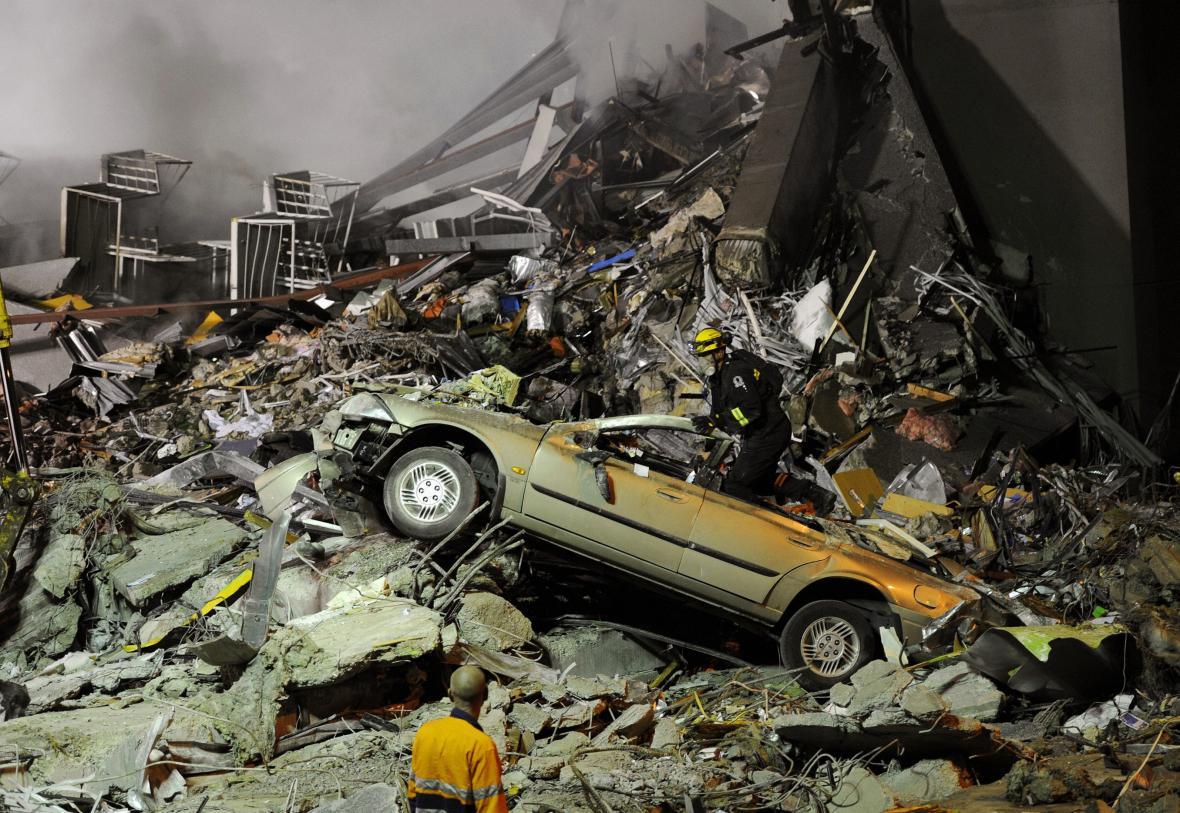 Zemětřesení v roce 2011. Slabší, ale přímo pod městem