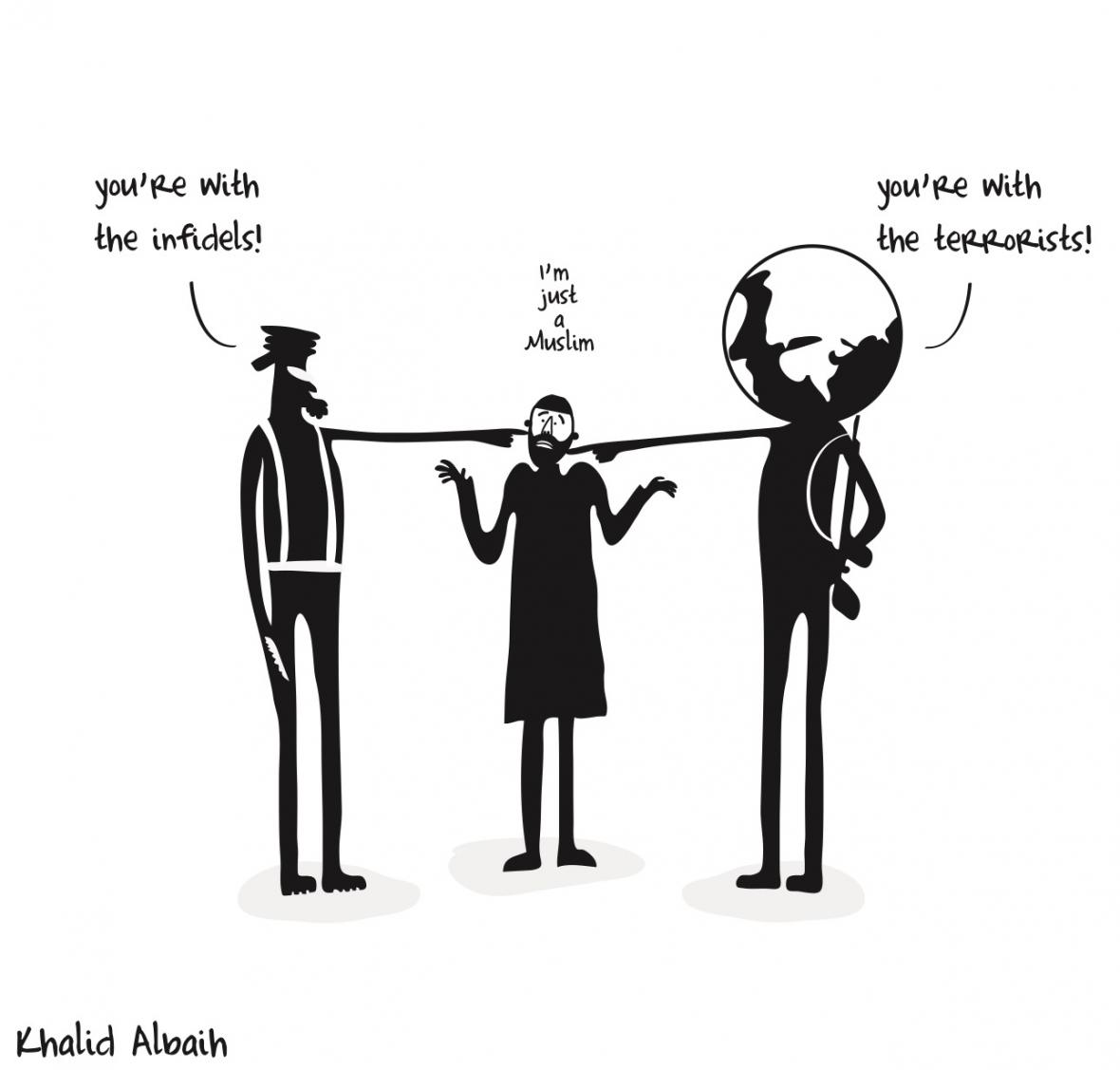 Arabští karikaturisté vystavují v pražském Doxu