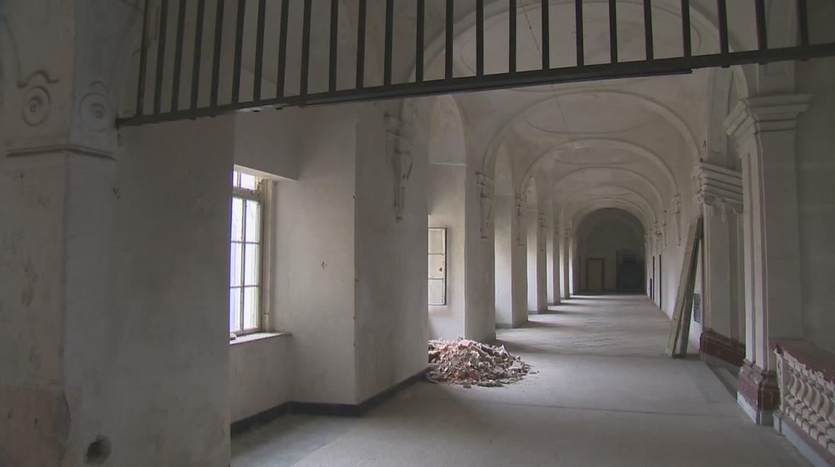 Současný stav Louckého kláštera
