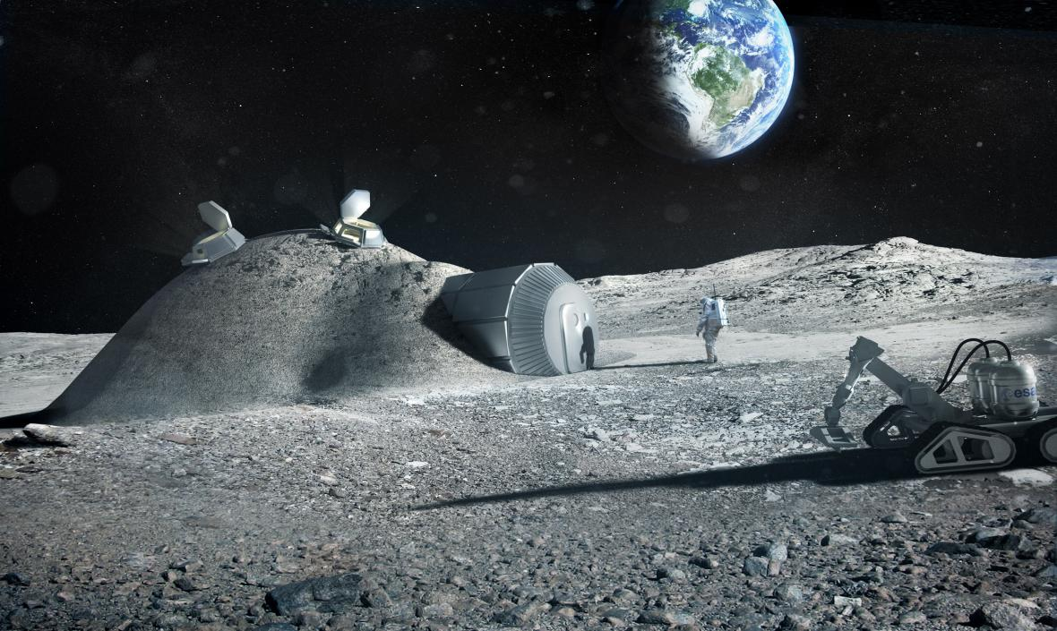 Vize základny na Měsíci