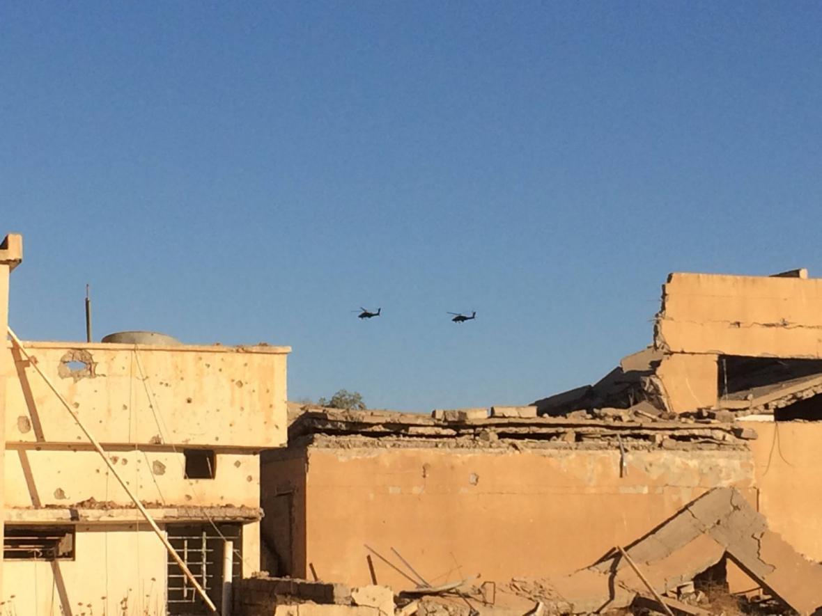 Zpravodaj ČT a kulisy zničeného Mosulu