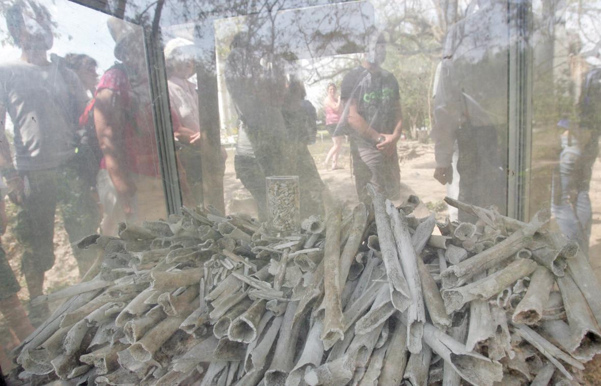 Muzeum genocidy v kambodžské metropoli Phnompenhu