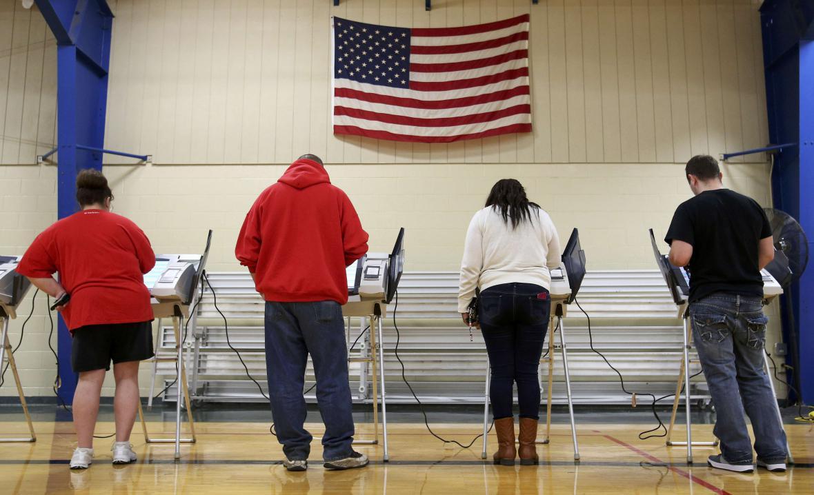 Elektronický způsob hlasování v amerických volbách