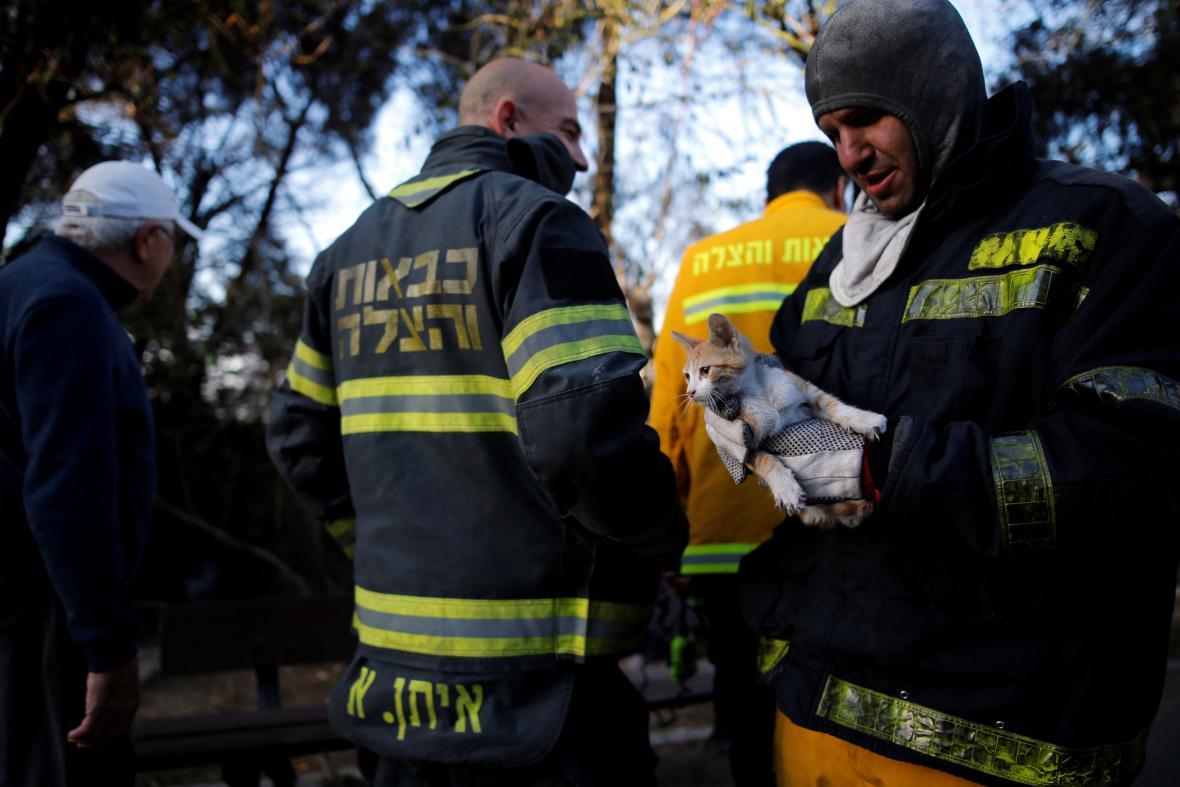 Požáry v Izraeli