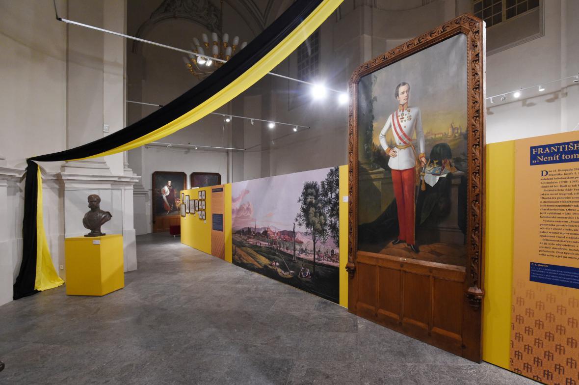 Výstava mapuje pobyt císaře Františka Josefa I. v Olomouci