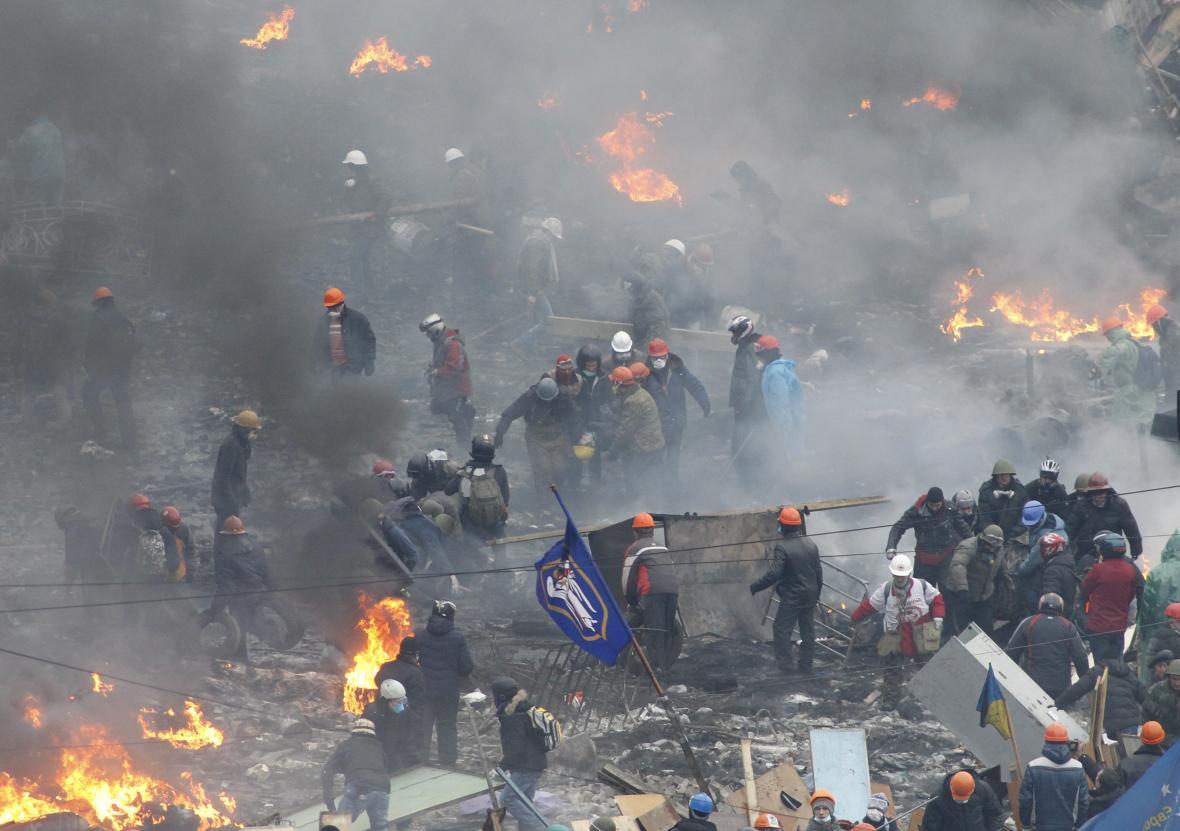 Masakr na Majdanu 20. února 2014