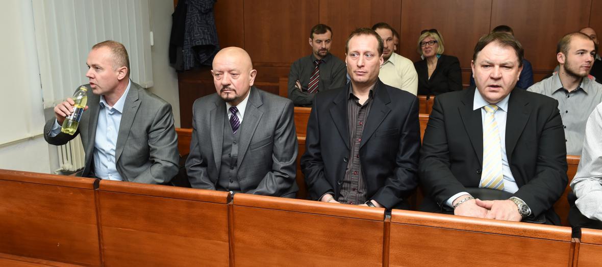Takzvaný Toflův gang u soudu