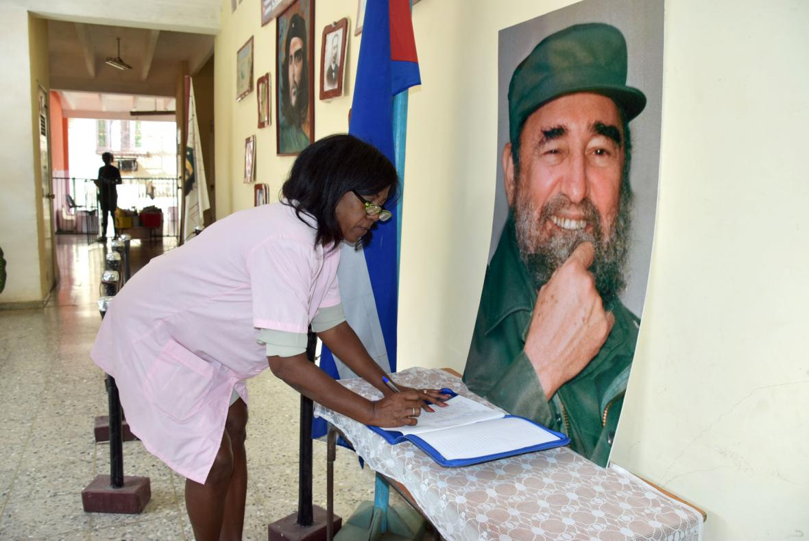 Havana se loučí s Castrem