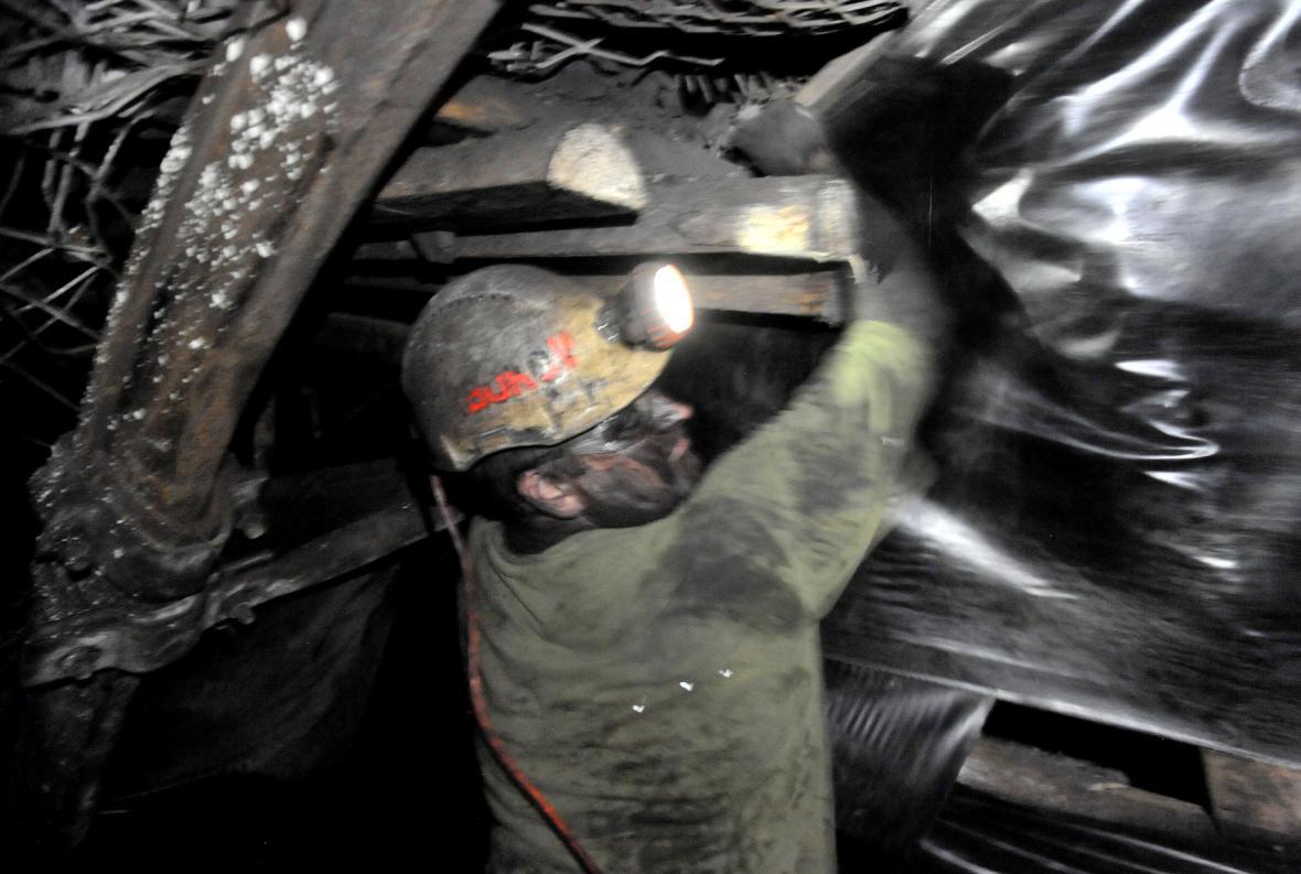 Opatření proti pronikání důlního plynu