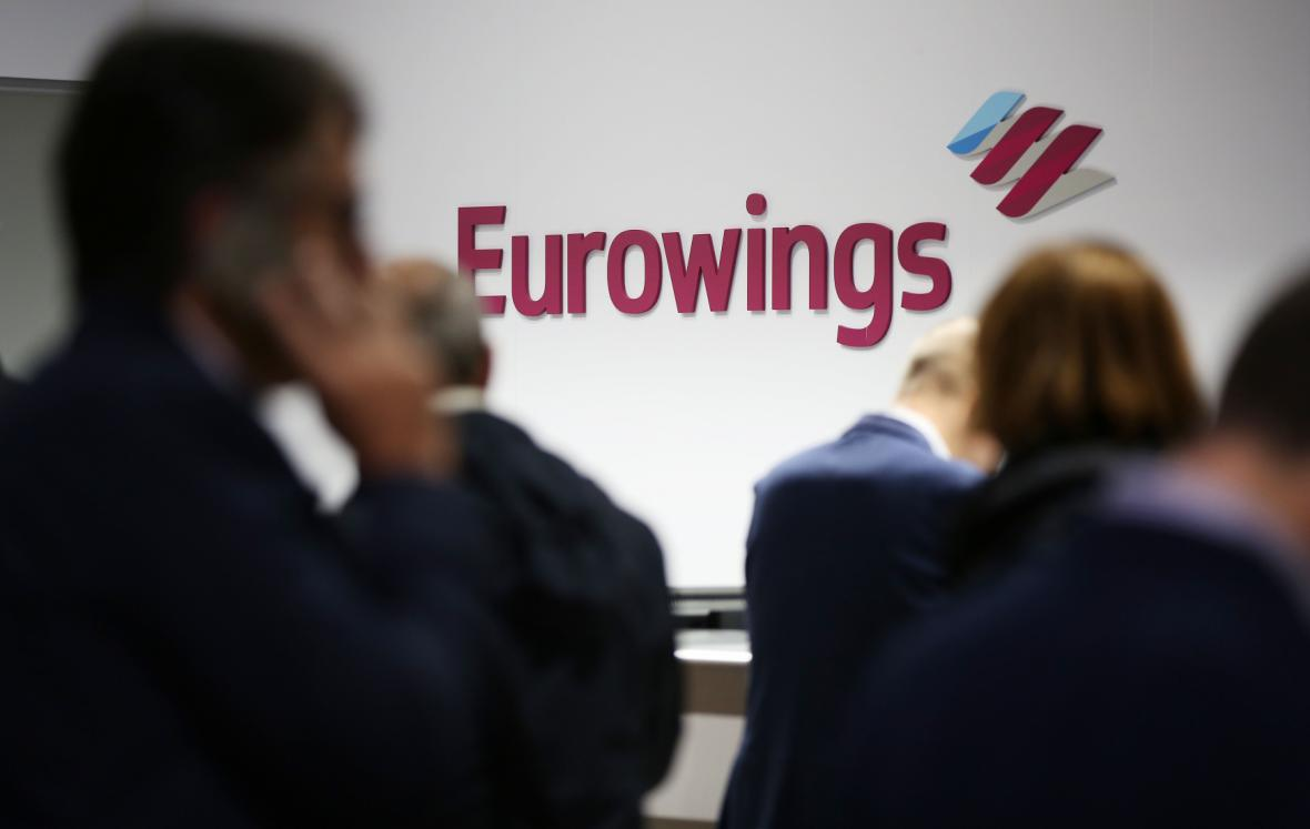 Eurowings se dohodly o mzdách.