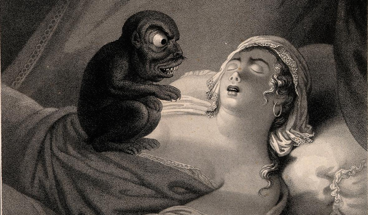 Noční můra, obraz Jeana Pierra Simona