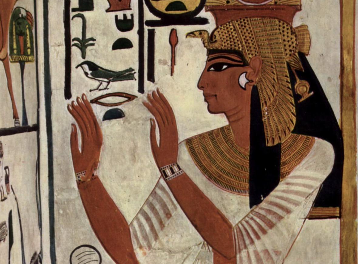 Podoba královny Nefertari