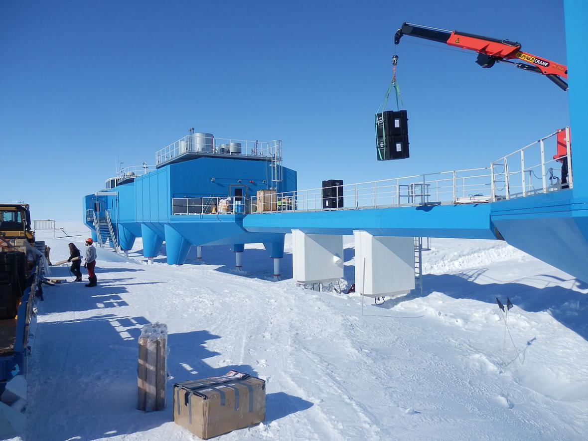 Britská polární stanice Halley VI