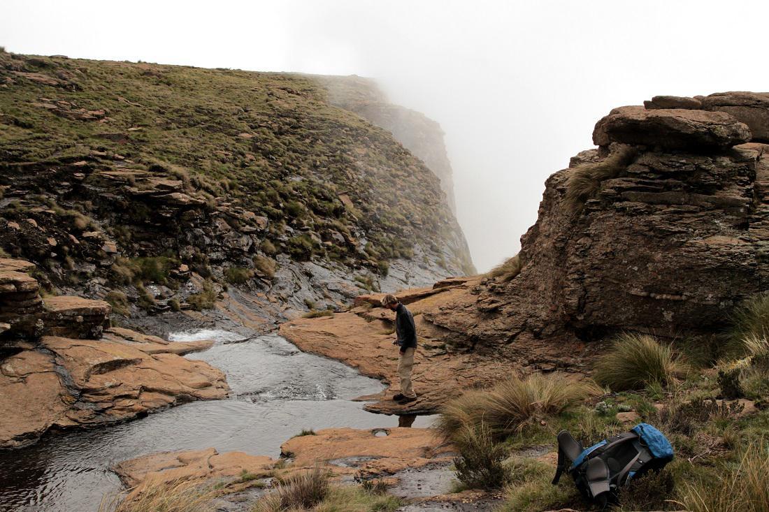 Expedice měření vodopádů Tugela