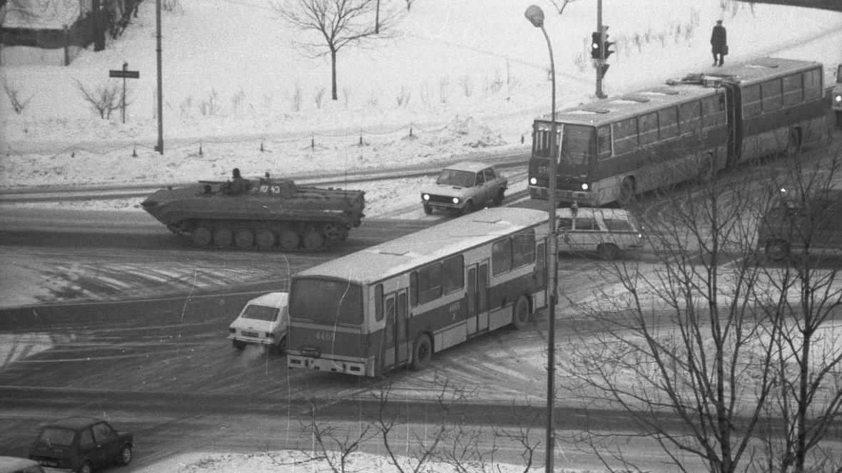 Výjimečný stav v Polsku 1981