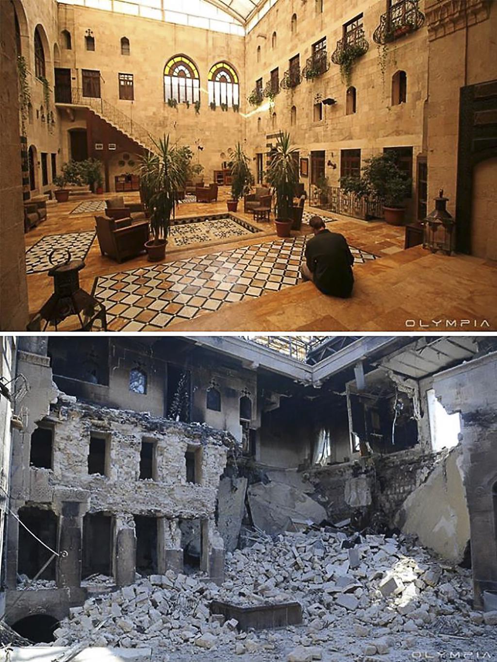Sýrie před válkou a dnes