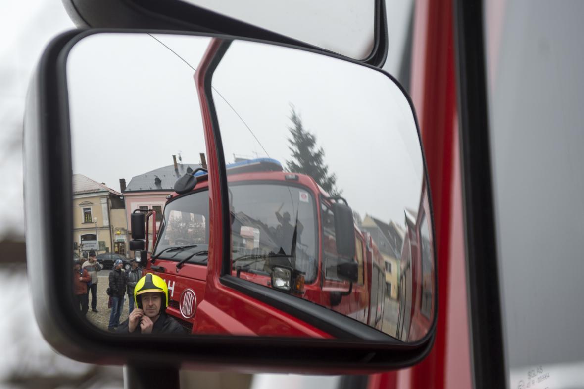 Ilustrační foto: hasičské auto