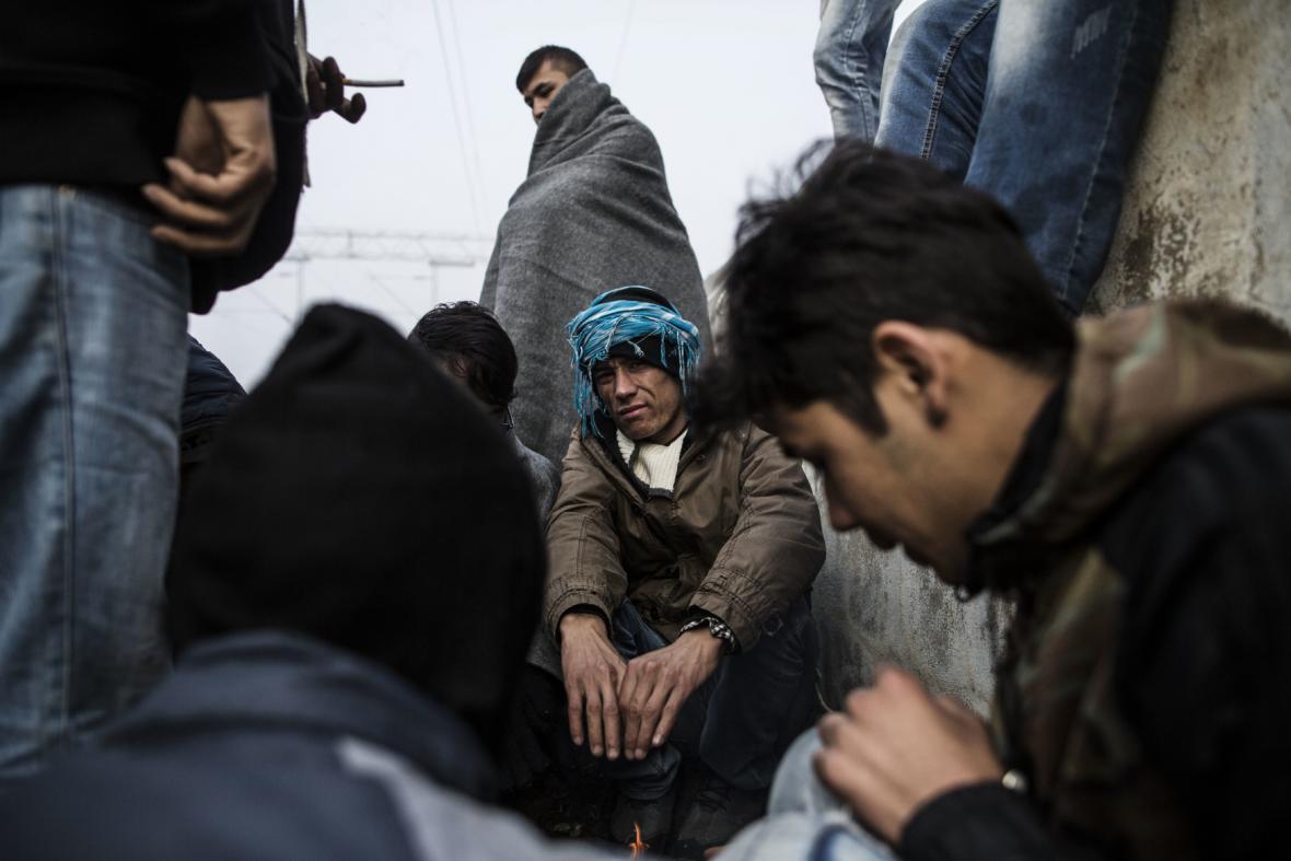 Běženci z Afghánistánu. Ilustrační foto