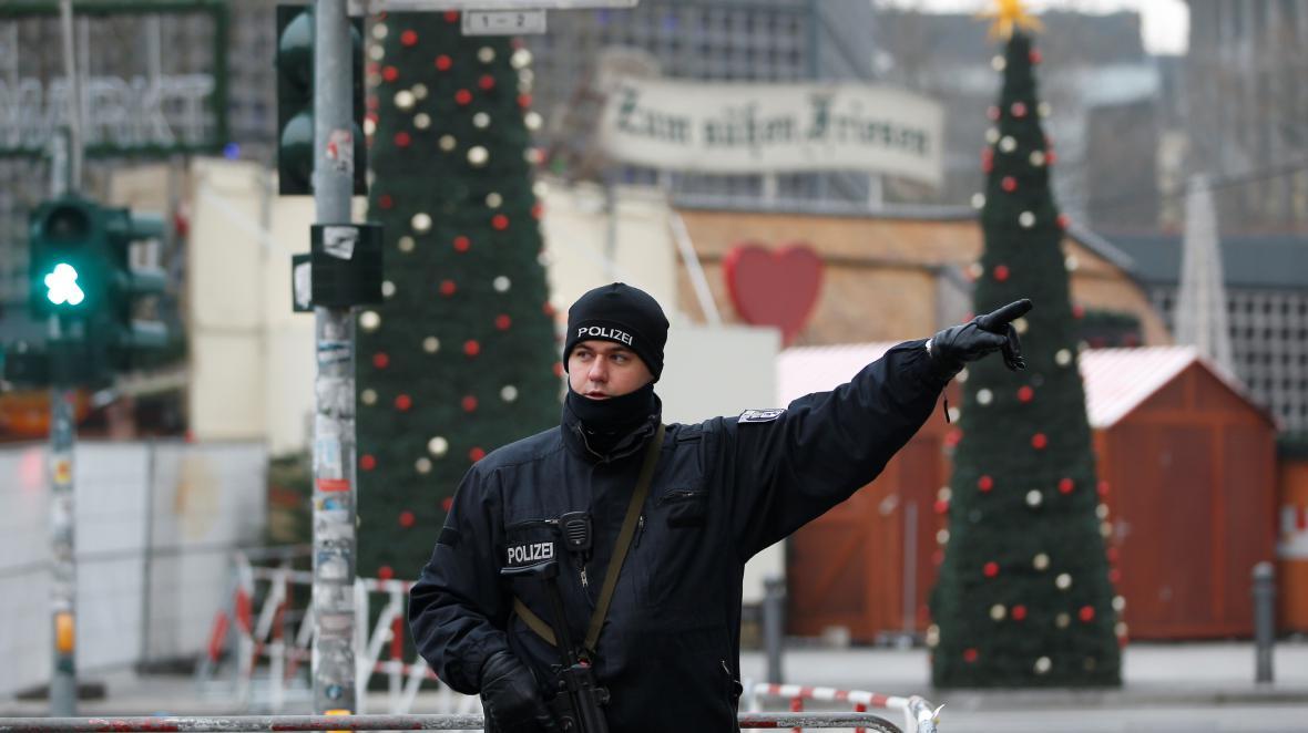 Vánoční trhy v Berlíně po útoku