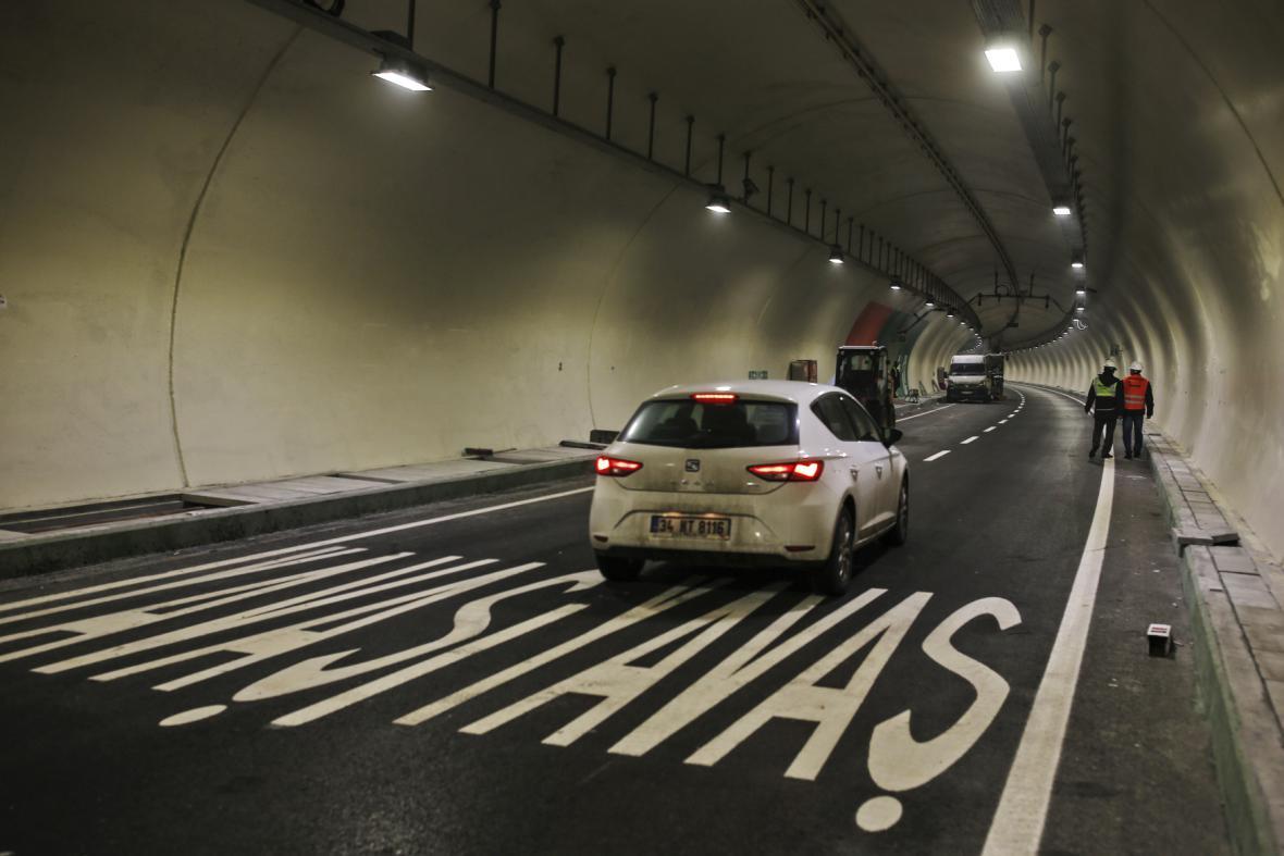 Nový tunel spojující evropskou a asijskou část Istanbulu