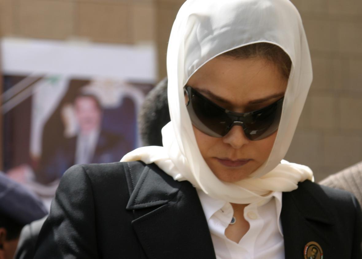 Dcera Saddáma Husajna Ragha