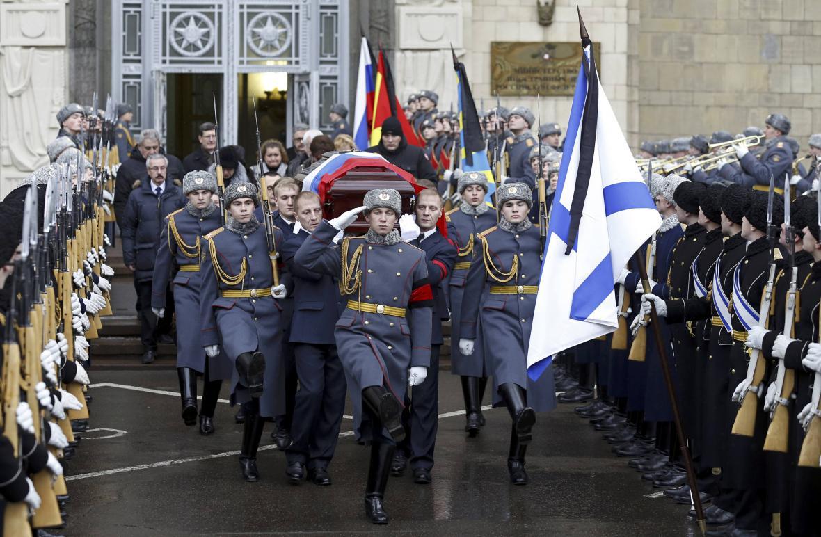 Pohřeb velvyslance Karlova