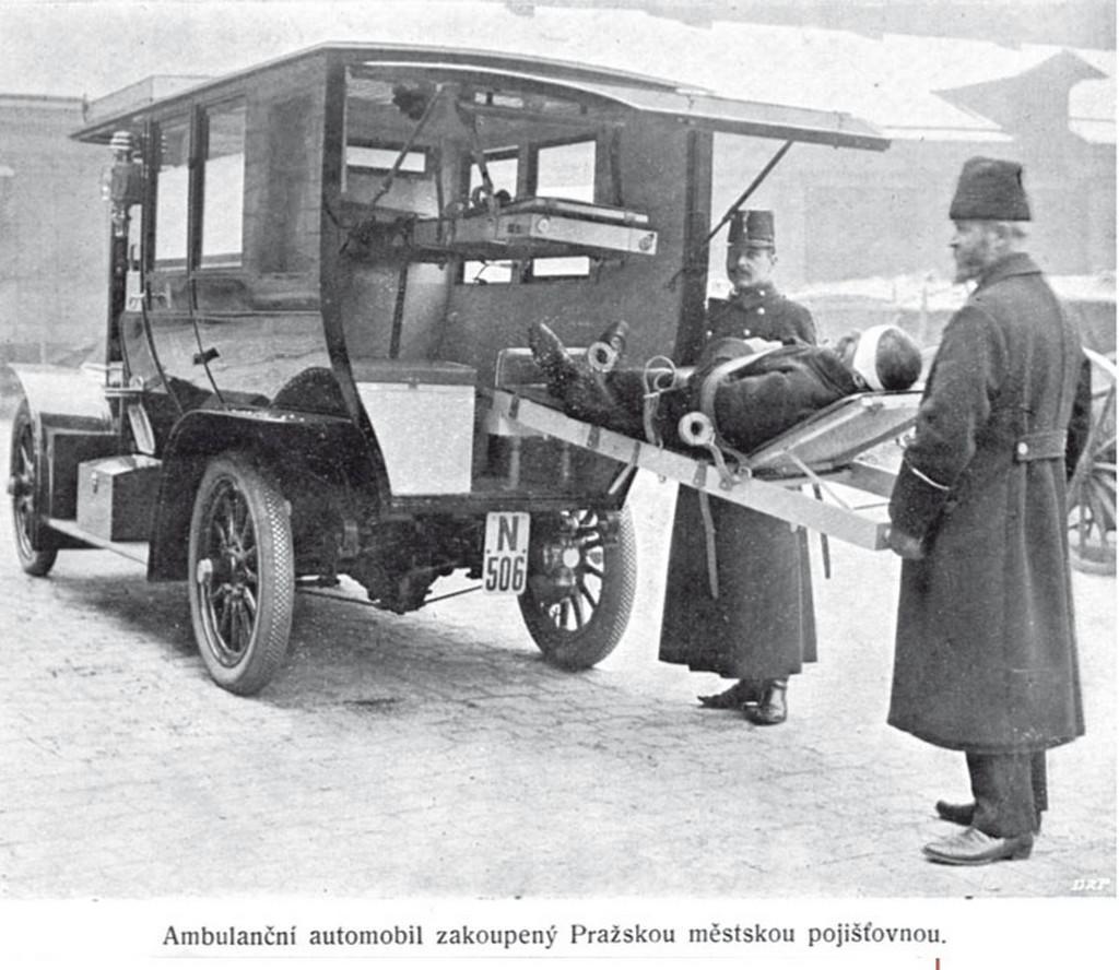 Historie pražských sanitek