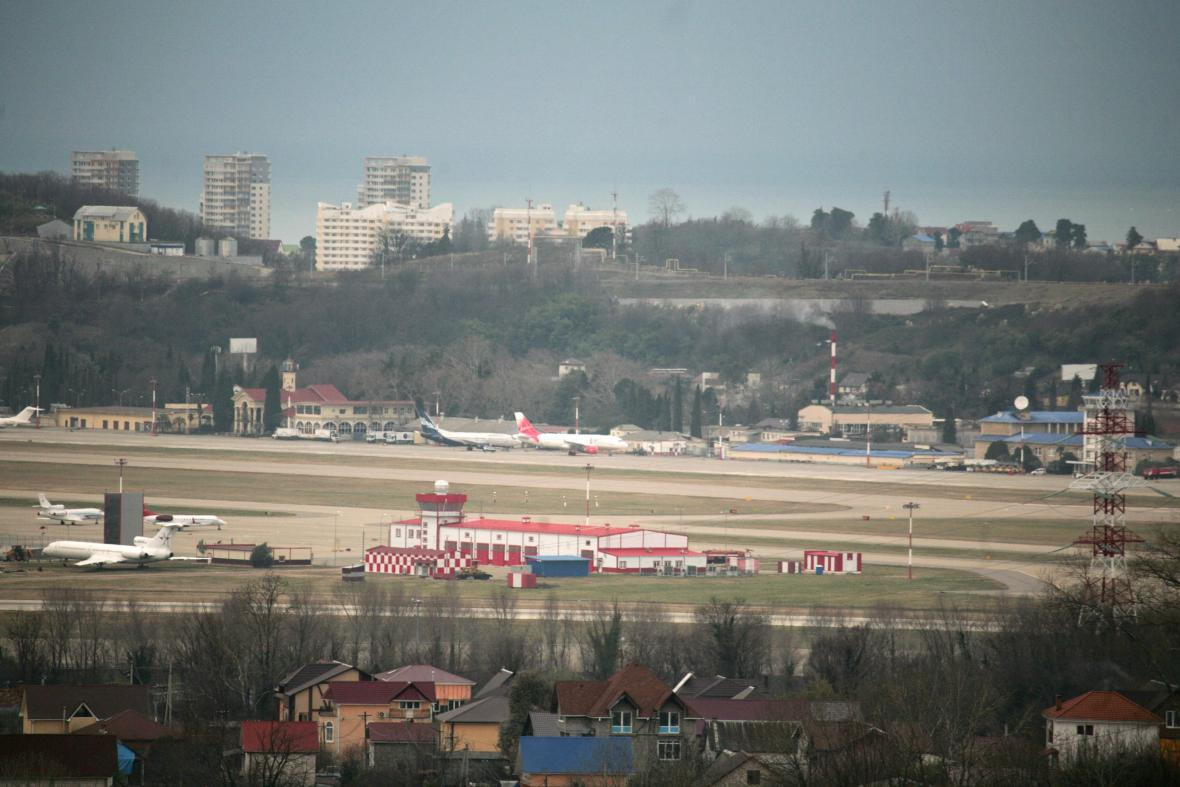 Mezinárodní letiště  Adler v ruském Soči