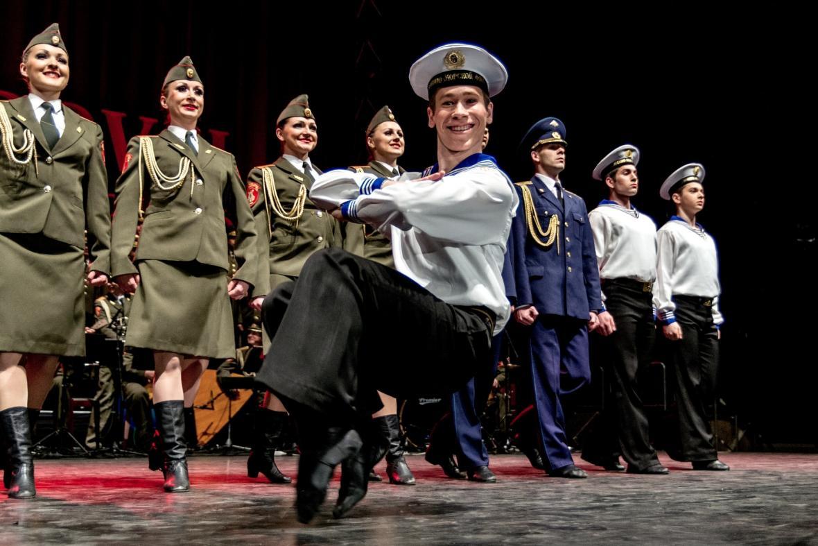 Liberecké vystoupení Alexandrovců v roce 2012